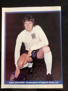 1970s A4 Shoot Football Magazine Picture Poster Mike Channon Southampton England | eBay