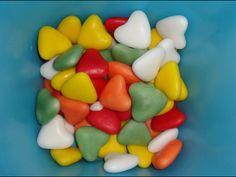 Gekleurde snoep hartjes