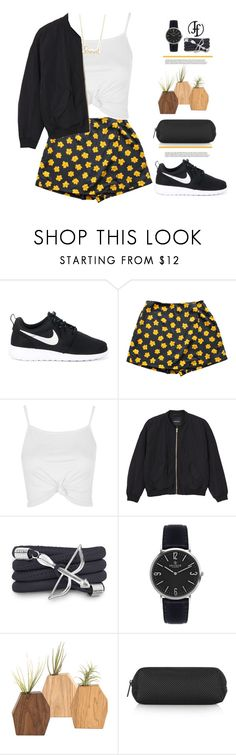 """Franco-Florenzi"" by mycherryblossom ❤ liked on Polyvore featuring NIKE, Topshop, Monki, Monza and Sydney Evan"