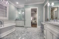 Bathrooms With Amazing Tile Flooring - Bathroom remodeling arlington tx