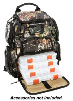 Tackle warehouse angler backpack a must have for shore for Bass pro fishing backpack