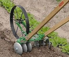 Hoss wheel hoe attachments