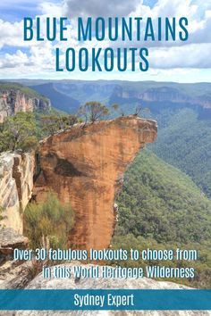 A trip to the World Heritage Listed Blue Mountains in a must do on your visit to Sydney. Check out our guide to the very best lookouts and how to find them including map locations and accessibility. Blue Mountains Australia, Valley View, New Zealand Travel, Picnic Area, Best Hikes, Travel Guides, Travel Tips, Travel Destinations, Day Tours