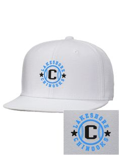 White on white Chinooks Hat