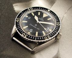 SCUBAWATCH.ORG SEAMASTER 300 BIG TRIANGLE 165.024 ROYAL NAVY ISSUE