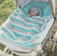Příze vhodné na deky (nejen) pro děti – Jak háčkovat