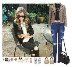 """""""Day with my best friend (Eleanor Jane Calder)"""" by dreamofjess ❤ liked on Polyvore featuring Zimmermann, Topshop, Monki, Casetify, Ted Baker, Adia Kibur, Burberry, Mulberry, Tai and Sunday Somewhere"""