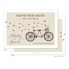 Take Note Designs | Save the date. The Merry Invites Store.