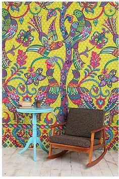 i want to have a tapestry wall.