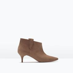 Image 1 of LEATHER BOOT from Zara