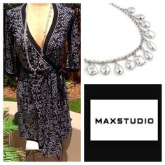 "Selling this ""❗️price drop❗️Max Studio Wrap Dress Sz S"" in my Poshmark closet! My username is: marinaschic. #shopmycloset #poshmark #fashion #shopping #style #forsale #Max Studio #Dresses"