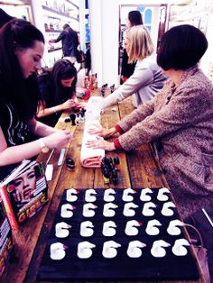 WAH NAILS AT THE MARC JACOBS COSMETIC LAUNCH! #wahnails #marcjacobs