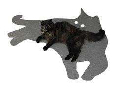 CAT MAT by elasticco on Etsy -- Emily Matko