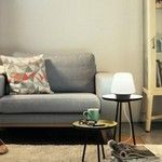 Philips Hue White Ambiance Wellness lampe à poser Decor, Ambiance, Furniture, Love Seat, Home Decor, Poser, White, Hue Philips, Interior Decorating