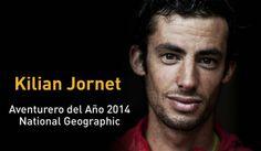 Moltes felicitats a Kilian Jornet pel premi otorgat per National Geographic com a aventurer de l'any 2014!!