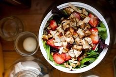 staying hungry : grilled chicken salad