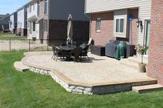 Shelby Township, MI Stamped Concrete Patios