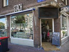 Delicious food shopping at Haarlemmerstraat and Haarlemmerdijk