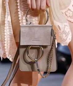 Chloé Banks on Mini Bags for Spring 2016