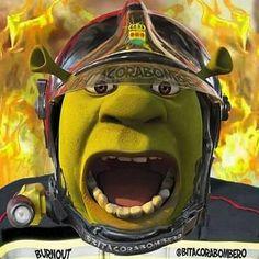 Un ogro bombero es aquel que decide por si mismo