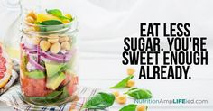Decreasing your sugar intake is as simple as avoiding foods that are high in refined sugars, such as soft drinks, candy, sweetened cereals, as well as most condiments.