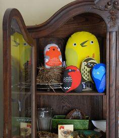 """Love these bird """"stuf"""" animals"""