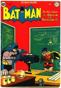 Batman #61 DC Comics cover by Win Mortimer