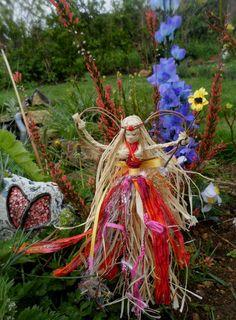 Litha Midsummer Garden Faerie Fairy Handmade Pagan Wiccan Gift