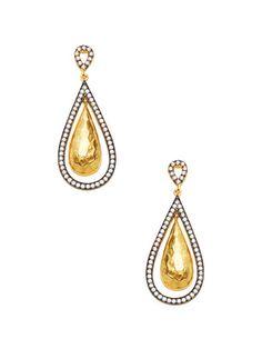 202d7bb2b Pave CZ Drop Earrings by Azaara at Gilt Drop Earrings, Jewelry Ideas, Drop  Earring