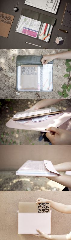 Ooh~~ There's no better way to safely carry your papers, reports, planner, and more than with the handy 4 Pocket Document Pouch! This particular pouch can fit more than 100 sheets of letter-sized paper so you can have all your necessities in one place!