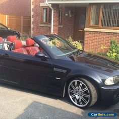 BMW E46 M3 Individual Black Purple Cabriolet / Convertible 1 Off Example! #bmw #bmw #forsale #unitedkingdom