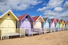 Pretty Beach Huts - Download From Over 45 Million High Quality Stock Photos, Images, Vectors. Sign up for FREE today. Image: 5068990