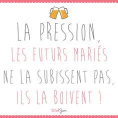 Pas de stress #mariage