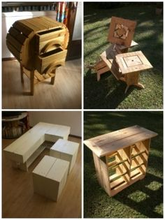 Pallet Furniture From New Caledonia