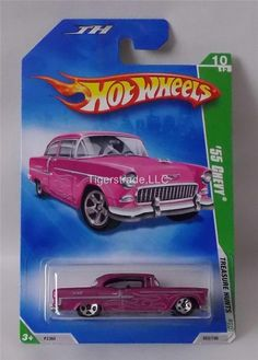 2009 HOT WHEELS RLC - TREASURE HUNT (NON SUPER) - '55 CHEVY