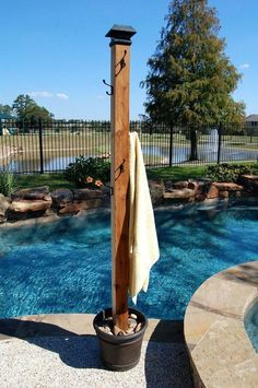 21 Best Swimming Pool Designs [Beautiful, Cool, and Modern] Landscaping swimming pool ideas. This a little swimming pool design with a disappearing edge and al