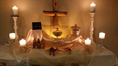 Epiphany Altar scape in Contemporary Worship.