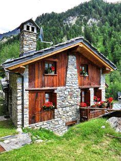 COURMAYEUR (Valle d'Aosta) - Val Sapin - by Guido Tosatto