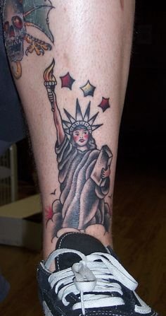 Lady Liberty Tattoo picture