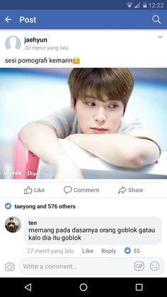 Funny Text Pictures, Reaction Pictures, Boy Idols, Drama Memes, Cartoon Jokes, Jaehyun Nct, New Memes, Good Jokes, Jokes Quotes