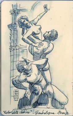 Moleskine sketches 2008 by Alessandro Andreuccetti, via Behance
