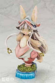 Made in Abyss Nanachi starts preorder. She becomes figure with bone helmet stand. Come and enjoy your time with Nanachi!    Learn more here: http://www.blacknovatoys.com/made-in-abyss-nanachi.html #MadeInAbyss #Nanachi