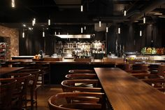 The Bar Downstairs at Andaz 5th Avenue - Incredible lights!