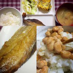 鰊美味しいです  今日の夜はつなぎ屋さんへあゆみちゃんに会いに少しだけですけど行って来ます  #朝ごはん #和食 #instafood