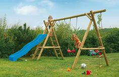 Search results for: 'playsets wooden swing sets' Playground Slide, Natural Fence, Wooden Fence, Swings, Fasteners, Anchors, Garden Ideas, Blue, Google