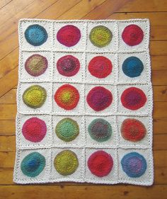 Tin Can Knits Pop Baby Blanket Knitting Pattern