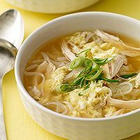 Egg Drop Soup with Chicken & Noodles Recipe by FAMILY_RECIPES