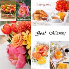 Good Morning Beautiful People, Good Morning Good Night, Good Morning Wishes, Night Pictures, Morning Pictures, Morning Images, Happy Morning, Morning Coffee, Collages
