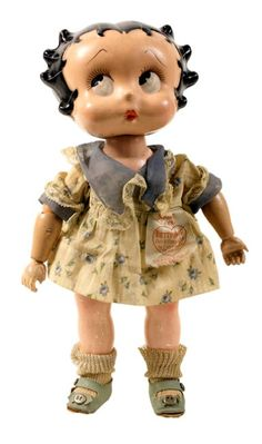 Betty Boop Cameo Doll