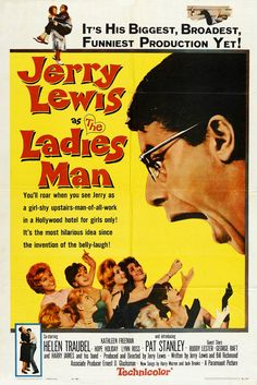 "Jerry Lewis' ""The Ladies Man"" (1961), starring Jerry Lewis, Helen Traubel and Kathleen Freeman."